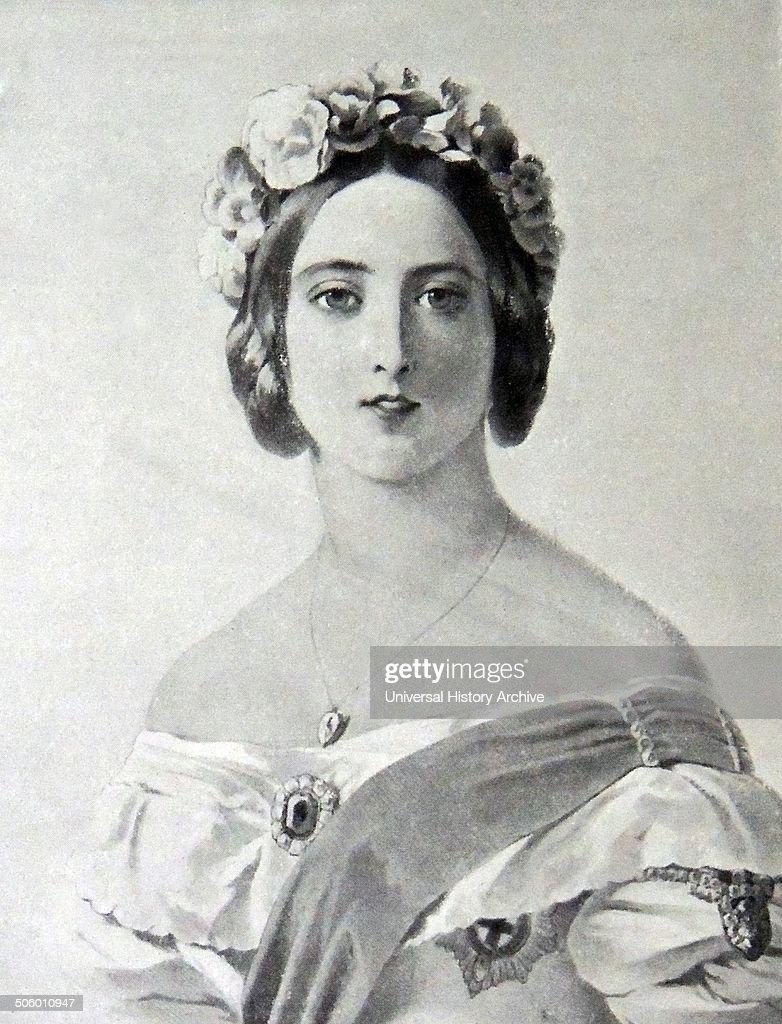 Queen Victoria. : News Photo