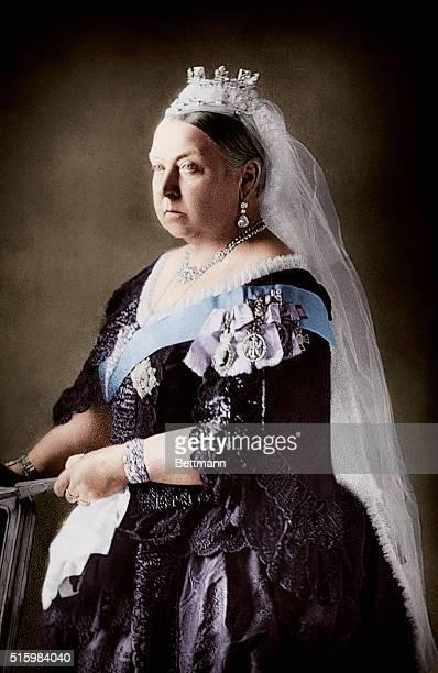 Portrait of Queen Victoria of England Undated photograph