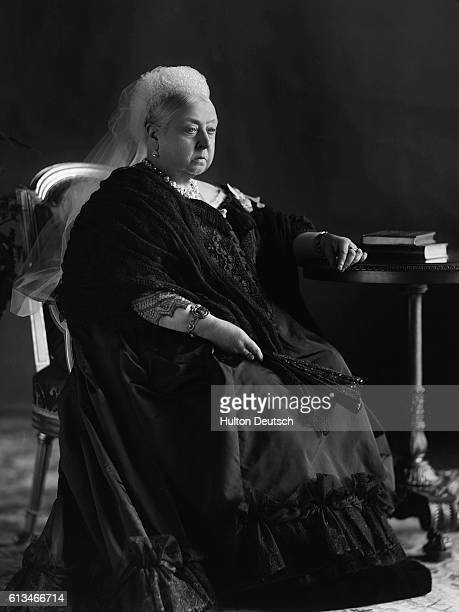 A portrait of Queen Victoria taken to commemorate her Diamond Jubilee in 1897