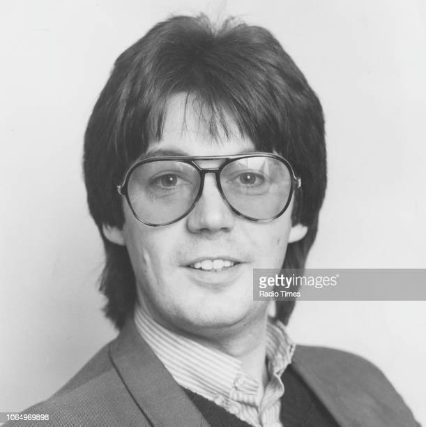 Portrait of radio disc jockey Mike Read 1980