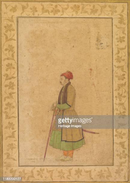 Portrait of Raja Ram Singh of Amber with a Deccan Sword circa 16801685 Creator Unknown