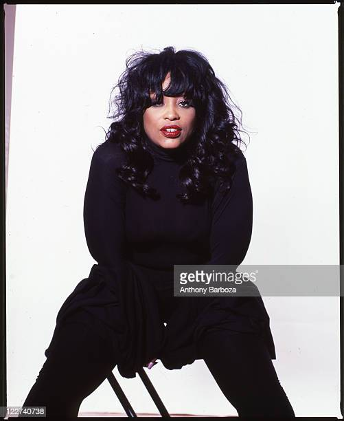 Portrait of RB and jazz singer Miki Howard New York 2006