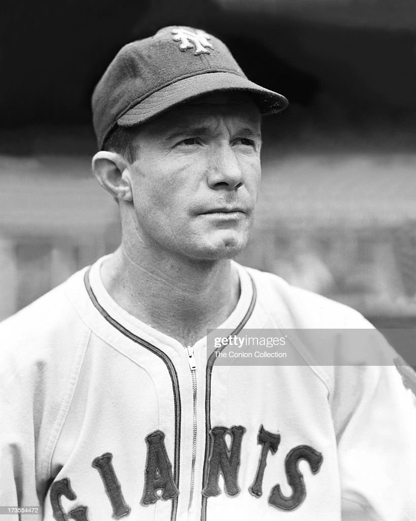 A Portrait of Red Lynn of the New York Giants.