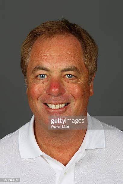 A portrait of Referee Steve Lander advisor to the England Sevens Team at The Lensbury Club on November 8 2011 in Teddington England