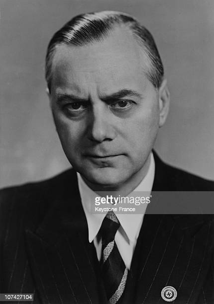 Portrait Of Reichsminister Alfred Rosenberg In Germany On January 4Th 1943