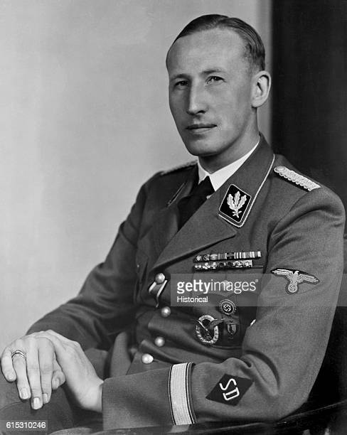 A portrait of Reinhard Heydrich chief lieutenant to Heinrich Himmler in the Nazi SS Known for his extreme cruelty Heydrich was the man behind the...