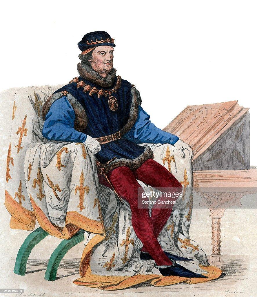 Portrait of Rene of Anjou , al...