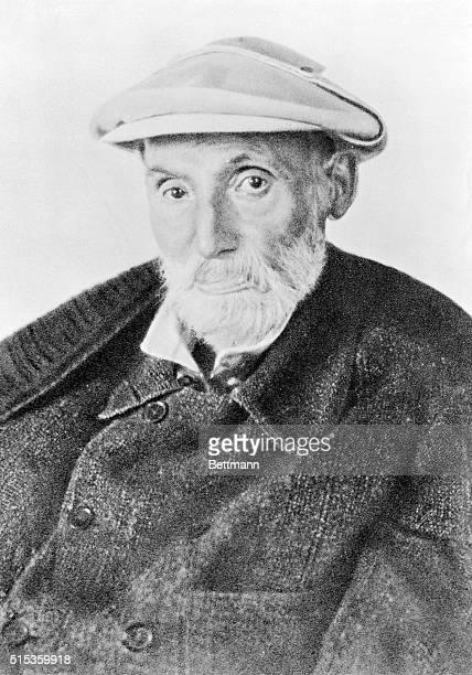 Portrait of Renoir French painter