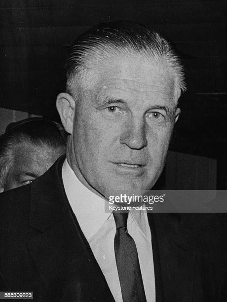 Portrait of Republican politician George Romney Governor of Michigan November 22nd 1966