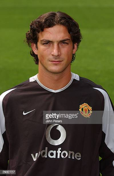 A portrait of Ricardo during the Manchester United official photocall at Old Trafford on August 11 2003 in Manchester England