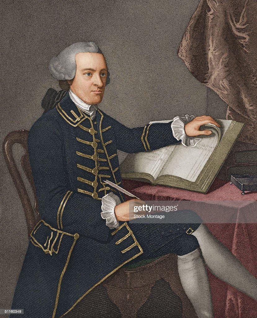 Portrait Of John Hancock : News Photo