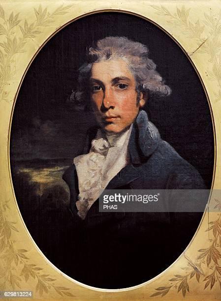 Portrait of Richard Brinsley Sheridan by John Hoppner late 1780searly 1790s