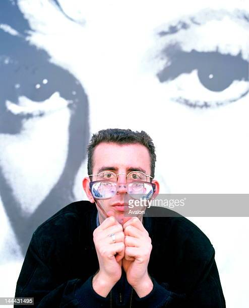 Portrait of Richard Coles of The Communards photographed in the late 1980's.;