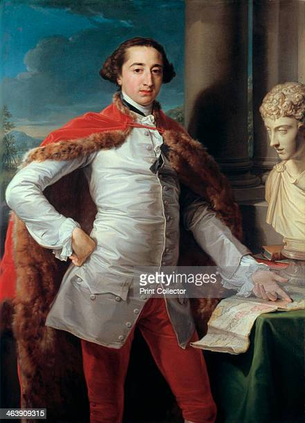 'Portrait of Richard Milles' This portrait of Milles who was Member of Parliament for Canterbury was probably painted when he was in Rome whilst...