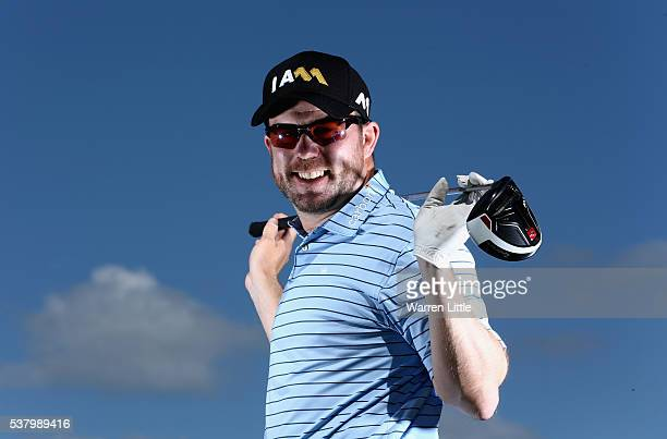 A portrait of Richie Ramsay of Scotland ahead of the BMW PGA Championship at Wentworth Golf Club on May 24 2016 in Virginia Water England