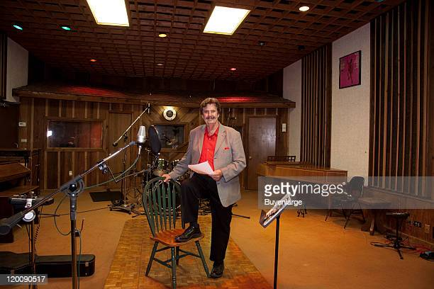 Portrait of Rick Hall founder of FAME Recording Studios in his studio Muscle Shoals Alabama 2010