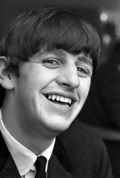 Portrait Of Ringo Starr Drummer With The Beatles Pop Group In 1963