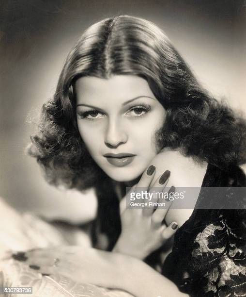 Portrait of Rita Hayworth taken at Columbia Pictures the studio which groomed and launched her to stardom