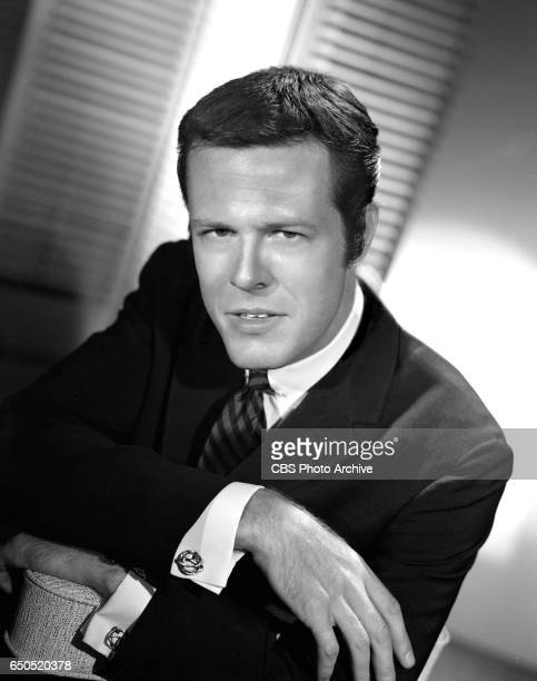 Portrait of Robert Culp He portrays Hoby Gilman in the CBS television western Trackdown Image dated July 15 1957 Los Angeles CA