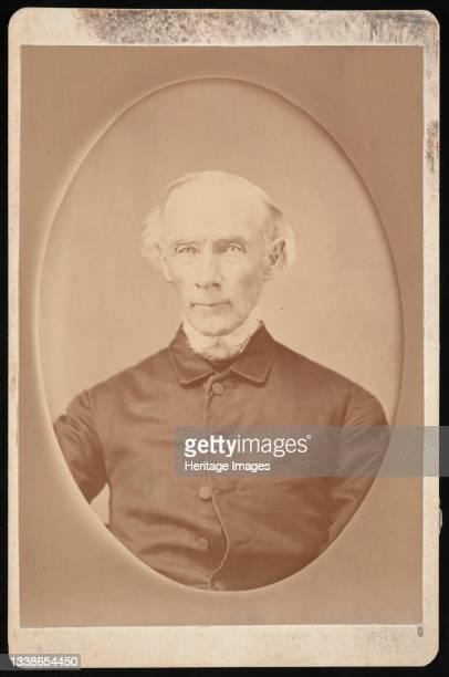 Portrait of Robert Dale Owen , Before 1876. Artist Unknown.