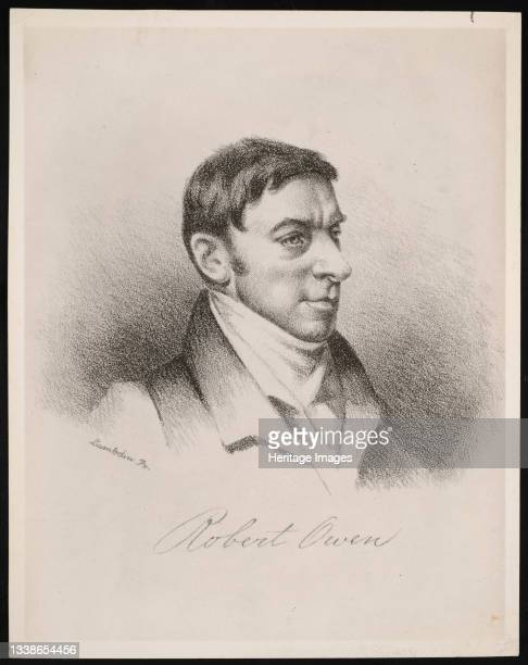 Portrait of Robert Dale Owen , Before 1876. Photograph of engraving after a painting by John Reid Lambdin. Artist Unknown.