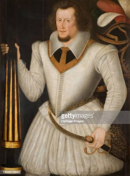 Portrait of Robert Devereux, 2nd Earl of Essex, 1600-1700. Artist School of Marcus Gheeraerts, the Younger. .