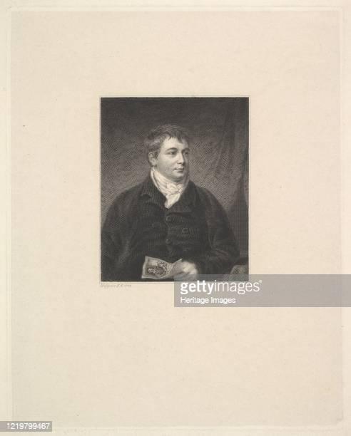 Portrait of Robert Grave Printseller 1827 After John Hoppner Artist Robert Graves
