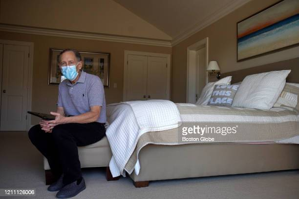 Portrait of Robert Langer in his Cape Cod residence in North Falmouth MA on April 25 2020 This is me says Langer This is where and how I work Robert...