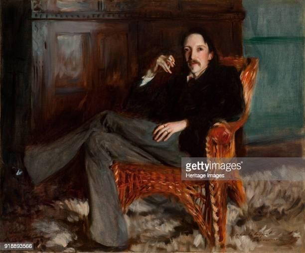 Portrait of Robert Louis Stevenson 1887 Found in the collection of Cincinnati Art Museum