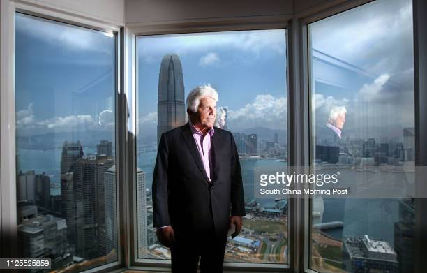 Portrait of Robert Miller, entrepreneur and co-founder of DFS . 09MAY13