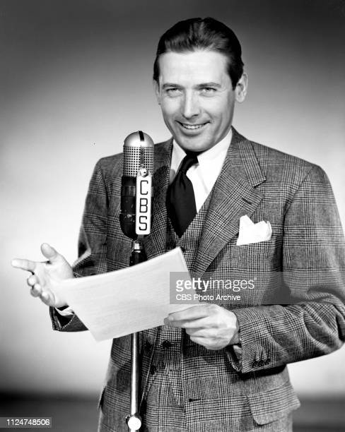 Portrait of Robert Shayne in the CBS Radio soap opera Young Dr Malone New York NY May 1 1941