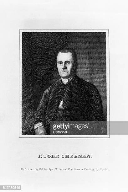 Portrait of Roger Sherman only man to sign the Declaration of Independence the Articles of Association the Articles of Confederation and the...