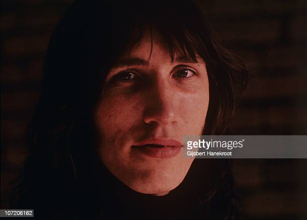 A portrait of Roger Waters of Pink Floyd at the Olympisch Stadion on 22nd May 1972 in Amsterdam Netherlands