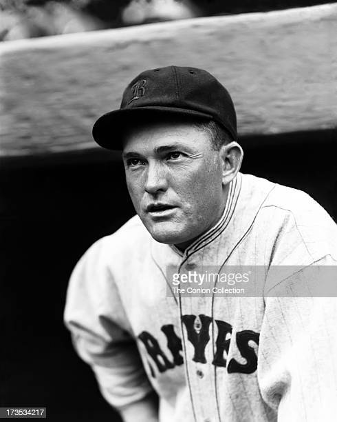 A Portrait of Rogers Hornsby of the Boston Braves in 1928