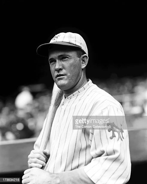 A Portrait of Rogers Hornsby of the New York Giants in 1927