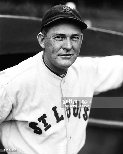A Portrait of Rogers Hornsby of the St Louis Browns in 1934