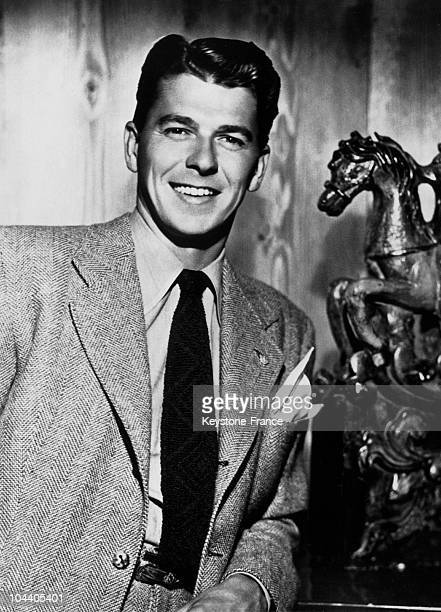 Portrait of Ronal REAGAN in the 1940's when he was a movie actor