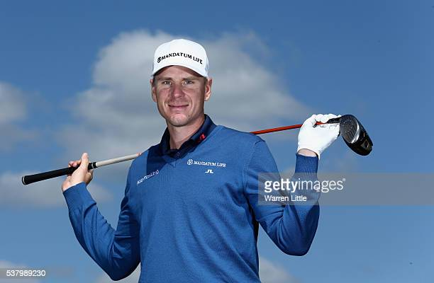 A portrait of Roope Kakko of Finland ahead of the BMW PGA Championship at Wentworth Golf Club on May 24 2016 in Virginia Water England