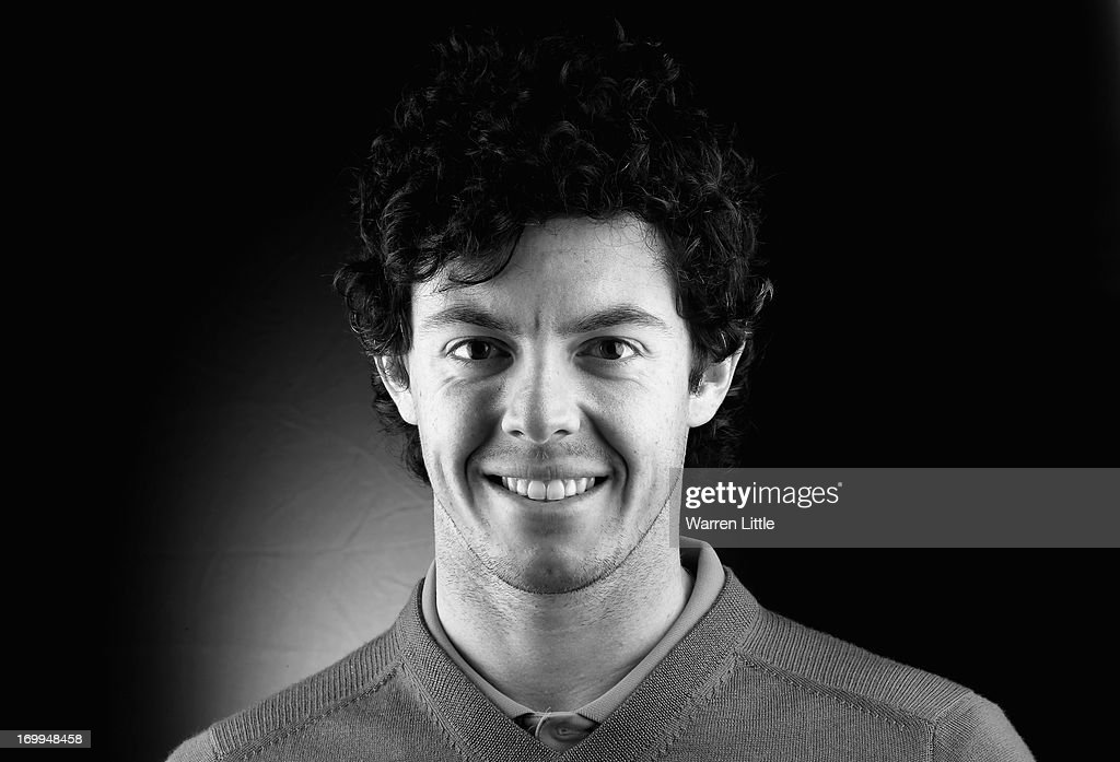 A portrait of Rory McIlroy of Northern Ireland ahead of the BMW PGA Championship at Wentworth on May 21, 2013 in Virginia Water, England.