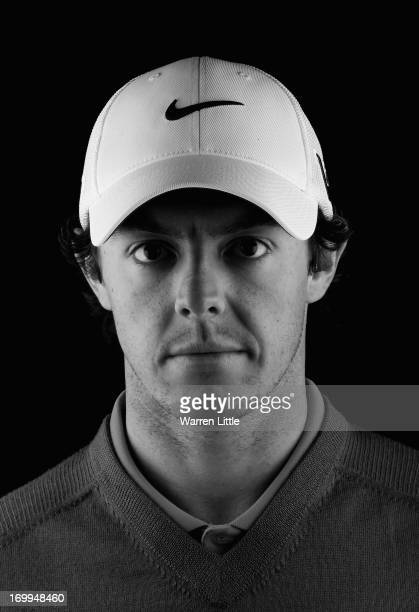 A portrait of Rory McIlroy of Northern Ireland ahead of the BMW PGA Championship at Wentworth on May 21 2013 in Virginia Water England