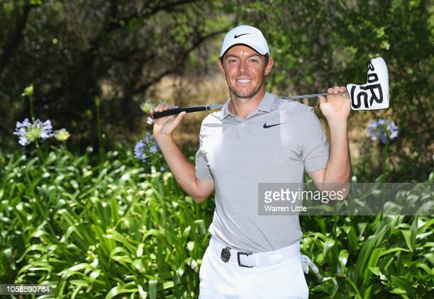 A portrait of Rory McIlroy of Northern Ireland ahead of the Nedbank Golf Challenge at Gary Player CC on November 7 2018 in Sun City South Africa