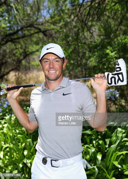 Portrait of Rory McIlroy of Northern Ireland ahead of the Nedbank Golf Challenge at Gary Player CC on November 7, 2018 in Sun City, South Africa.