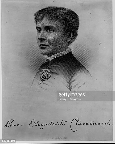 A portrait of Rose Cleveland sister of Grover Cleveland Rose Cleveland acted as White House hostess for President Cleveland prior to his marriage to...