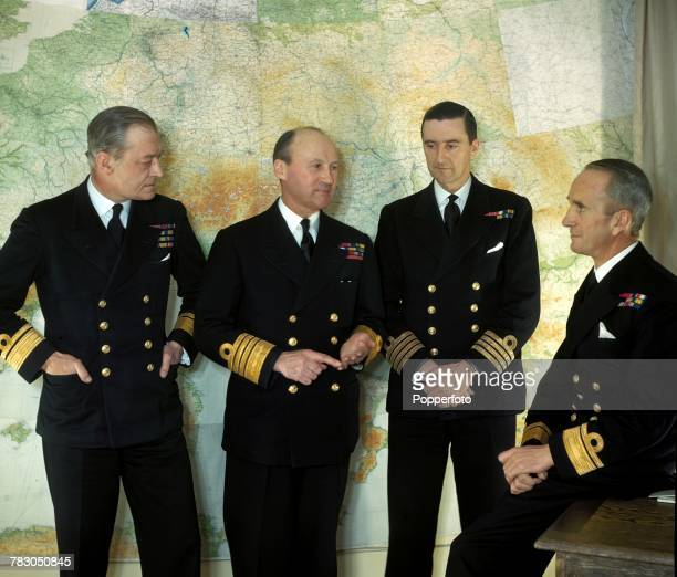 Portrait of Royal Navy Admiral Bertram Ramsay recently appointed as Allied Naval CommanderinChief of the Naval Expeditionary Force under General...