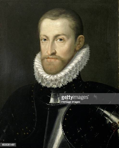 Portrait of Rudolf II of Austria , Holy Roman Emperor, ca 1578. Found in the collection of Ambras Castle, Innsbruck. Artist : Rota, Martino .