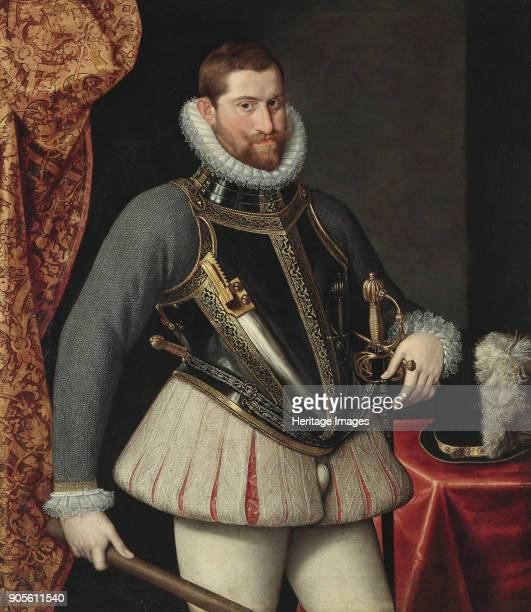 Portrait of Rudolf II of Austria , Holy Roman Emperor. Private Collection.