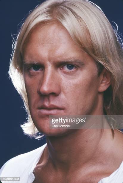 Portrait of Russian American dancer Alexander Godunov New York 1981