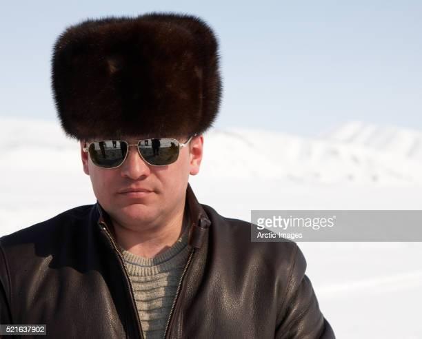 Portrait of Russian Man in Chukot Autonomous Okrug