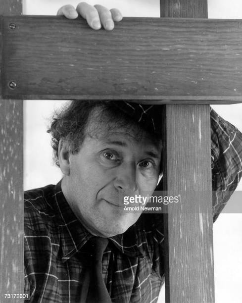 Portrait of Russian painter Marc Chagall as he looks through a wooden frame New York New York January 11 1942 Photo by Arnold Newman/Getty Images