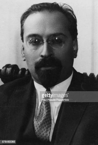 Portrait of Russian politician and diplomat, Lev Karakhan Soviet Vice Commissar for Foreign Affairs and Ambassador in Peking, pictured circa 1936.